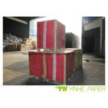 Dos gris avec panneau duplex de 300 g avec emballage de rame