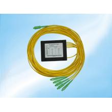 Singlemode 1X5 Fbt con Sc Connectors Fibra óptica Splitter