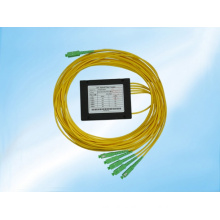 Singlemode 1X5 Fbt with Sc Connectors Fiber Optical Splitter