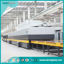 Landglass Horizontal Flat Glass Double Chamber Tempering Furnace