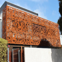 Corten Steel Cladding Panels for Curtain Wall
