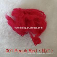 вискоза штапельного волокна дури крашеный цвет