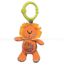 Factory Supply Baby Stuffed Plush Musical Movement Hang Toy