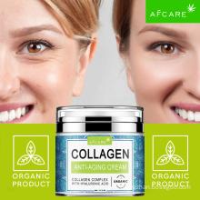 Light OEM Natural Moisturizing Lightening Rapid White Private Label Korean Aloe Vera Collagen Organic Beauty Face Cream