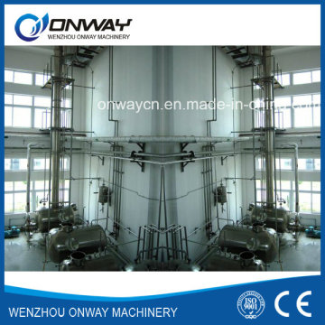 Jh Hihg Precio de Fábrica Eficiente Acetonitrilo de Acero Inoxidable Distillería de Etanol Destilación Torre de Destilación