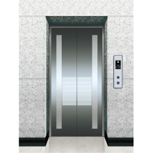 Elevator Etched Stainless Steel Landing Door