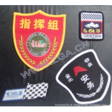 Emblema bordado, etiqueta do vestuário