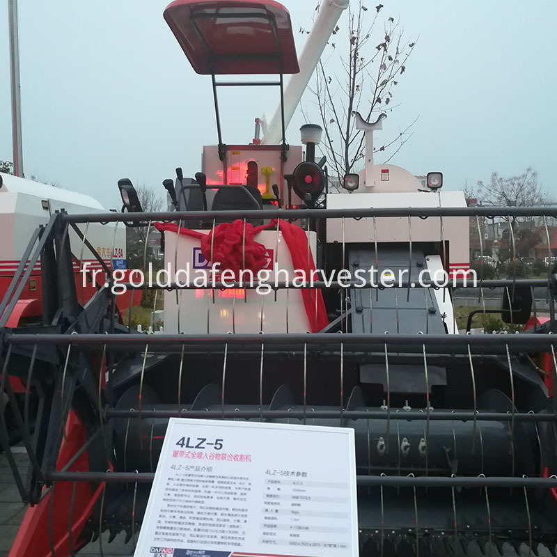 grain harvester combine rice