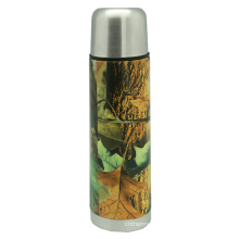 Stainless Steel Camouflage Vacuum Flask 500ml