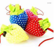 Colorful Foldable Shopping Bags With Drawstring Pouch, Reusable Folding Bag
