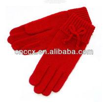 PK17ST347 design para senhoras luvas de mão de lã de mão