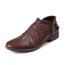 Sapatas de vestido lisas italianas agradáveis sapatas de vestido dos homens por atacado