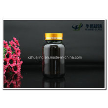 120g 4oz Pharmaceutical Brown Wide Mouth Pill Glass Bottles