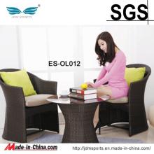 Meubles extérieurs de rotin de PE de table ronde de haute quaité (ES-OL012)