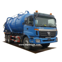 Foton 18 metros cúbicos Vacuum Sewer Cleaning Truck