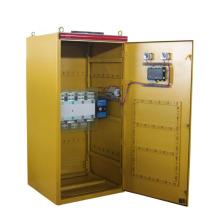 Control del motor, paneles ATS del generador