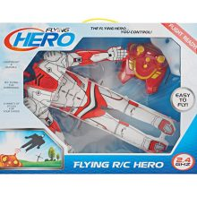 Boy Gift Two Way Remote Control Flying Hero Man RC Toy
