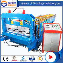 Metal Floor Deck Cold Pressing Roll Forming Machine