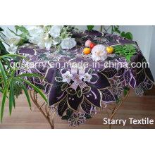 Christmas Table Cloth Purpule Color Fh052