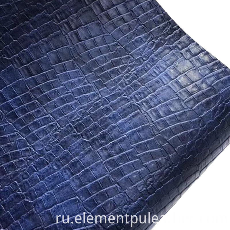 Fake Crocodile Leather PU