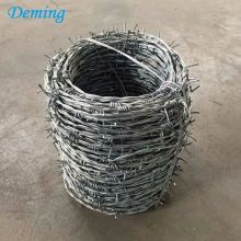 Dubbla Twisted Galvanized Barbed Wire Priser Sydafrika