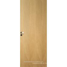 Porta projetada de madeira folheada projetada projeto simples
