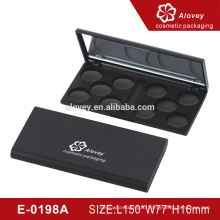 Cosmetic packaging empty eyeshadow container