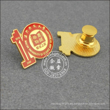 Insignia de escuela de souvenirs decenales, pin de solapa organizacional (GZHY-LP-033)