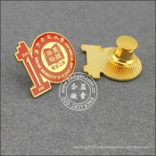 Crachá decenal da escola da lembrança, Pin de lapela organizacional (GZHY-LP-033)