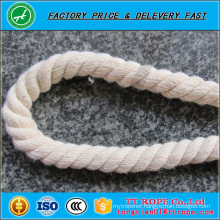 High quality white color cotton rope for sale colored cotton rope