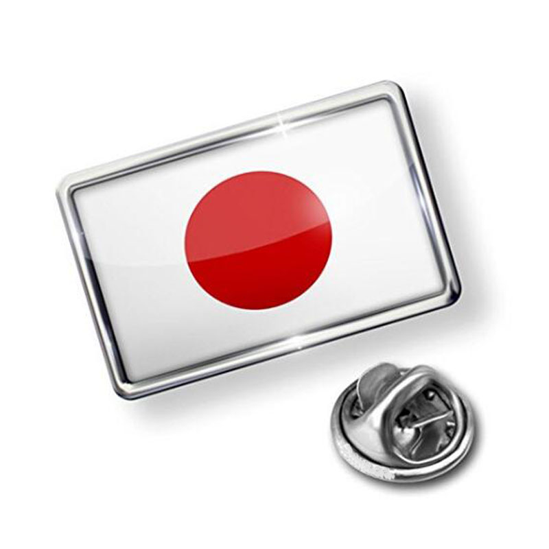 Japan Flag Lapel Badge