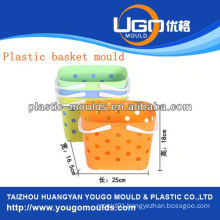 shopping basket mould injection basket mould in taizhou zhejiang china