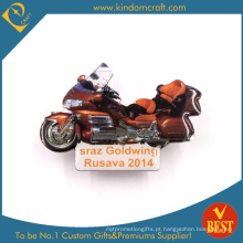 Emblema fresco do Pin da motocicleta de Goldwing no
