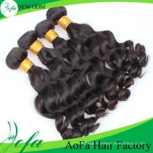 7A Grade humain 100% non transformés vierge humaine remy cheveux
