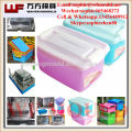 2018 new products box case plastic mould high quality plastic fruit storage case molds in taizhou