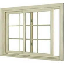 La última ventana deslizante de aluminio de doble acristalamiento de diseño / aluminio Grils dentro