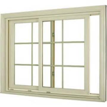 Fenêtre coulissante en aluminium de glaçage de double de dernière conception / grils en aluminium à l'intérieur