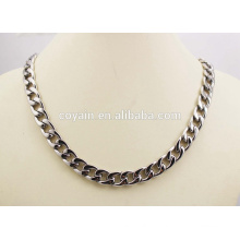 Bracelet en acier inoxydable et collier Link Chain Ensemble de bijoux punk