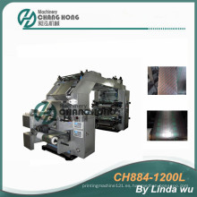 Máquina de impresión flexográfica de la lámina de Alumi (CH884-1200L)