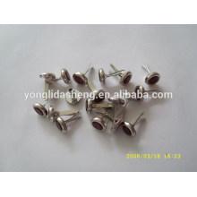 Estampage sur mesure des goupilles en métal circulaires en métal