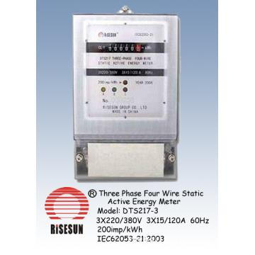 Three Phase Four Wire Energy Meter