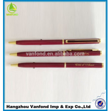 mieux vendre stylo cadeau promotionnel en métal pour la promotion de l'usine de stylo