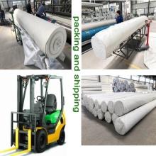 Geotextil de fibra larga para la industria agrícola