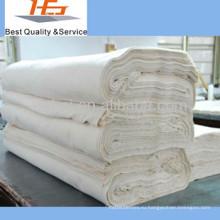 оптовая белый 100 хлопок ткань дешевая для постельного плоский лист