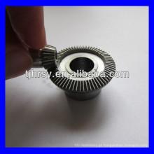 Endureça os engrenagens cônicas de aço dos dentes M0.5 * 66T