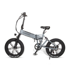 Luvgogo Wholesale E Bike Folding MTB Electric Bicycle Scooter Full Suspension City E Bicycle Drop Shipping