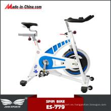 Bicicleta de spinning barata de la impulsión de correa del edificio del cuerpo de la aptitud interior