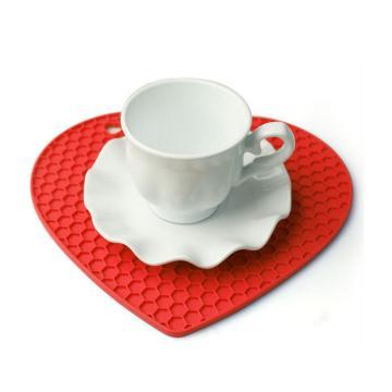 Cup Saucer Coaster Honeycomb Silicone Pot Mat