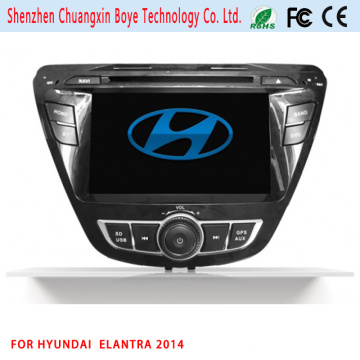 Reproductor de DVD de coche para Elantra 2014