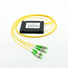 Splitter optique à fibre optique 1 * 3 Fbt avec boîtier ABS